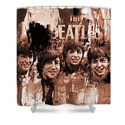 The Beatles Art  Shower Curtain