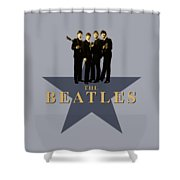 The Beatles - Signature Shower Curtain