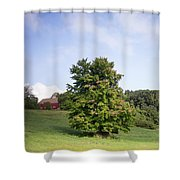 The Beginning Of Autumn Shower Curtain