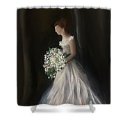 The Big Day Shower Curtain