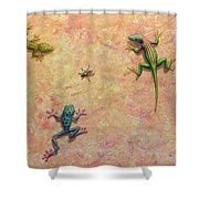 The Big Fly Shower Curtain
