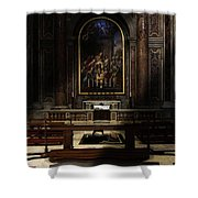 The Blessing Shower Curtain