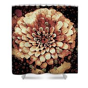 The Bloom Of Fall Shower Curtain