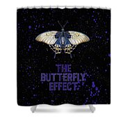 The Butterfly Effect II Shower Curtain