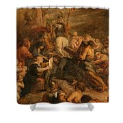 The Carrying Of The Cross, 1634 - 1637 Shower Curtain