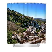 The Castle Of Moors Shower Curtain
