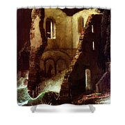 The Chapel 1898 Shower Curtain