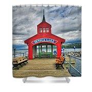 The Charm Of Seneca Lake - Finger Lakes, New York Shower Curtain