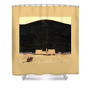 The Cottage At The Foot Of The Mountain - Digital Remastered Edition Shower Curtain