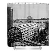 The Crab Pots Shower Curtain