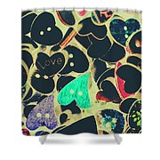 The Craft Of Love Shower Curtain