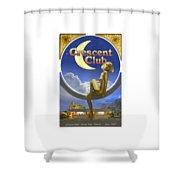 The Crescent Club, Siesta Key Shower Curtain