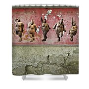 The Crones - Venus Dancing  Shower Curtain