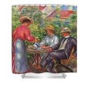 The Cup Of Tea, Or The Garden Shower Curtain