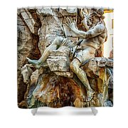 The Danube Shower Curtain
