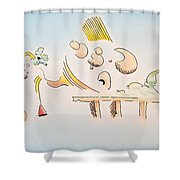 The Dawn Of Thought Shower Curtain