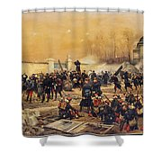 The Defense Of Champigny  Shower Curtain