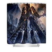 The Dragon Gate Shower Curtain