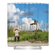 The Early Bird... Shower Curtain