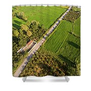 The Fields-3 Shower Curtain by Okan YILMAZ
