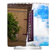 The Fillmore West - San Francisco Shower Curtain