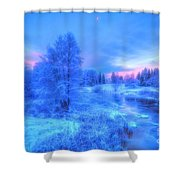 The First Snow 2 Shower Curtain