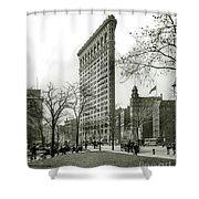 The Flatiron Building 1903 Shower Curtain