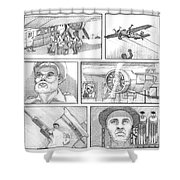 The French Connection Shower Curtain