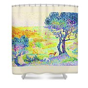 The Full Of Bormes - Digital Remastered Edition Shower Curtain