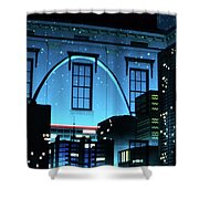 The Gateway Arch And The City Shower Curtain