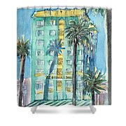 The Georgian Hotel, Santa Monica Shower Curtain