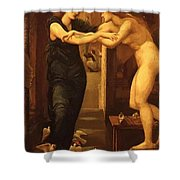 The Godhead Fires Pygmalion 1870 Shower Curtain