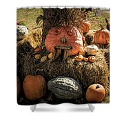 The Gords Are Ready For Autumn Shower Curtain by Jeff Folger