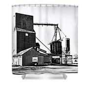 The Grain Elevator Shower Curtain