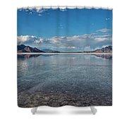 The Great Salt Lake Shower Curtain