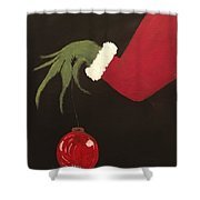 The Grinch Shower Curtain