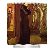 The Heart Desires The Pygmalion Series 1870 Shower Curtain