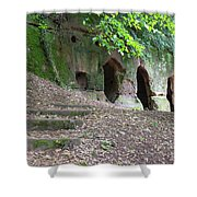 The Hermit's Cave Shower Curtain