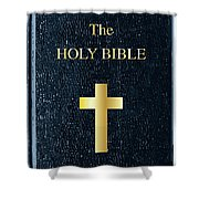 The Holy Bible Shower Curtain