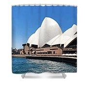 The Iconic Sydney Opera House.  Shower Curtain