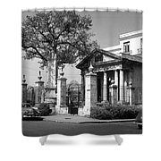 museum 'El Templete' Havana Shower Curtain