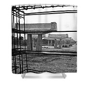 The Iron Substructure Shower Curtain