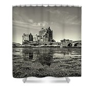The Island Castle Shower Curtain