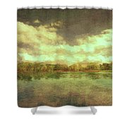The Lake - Panorama Shower Curtain