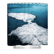 The Land Of Solitude Shower Curtain