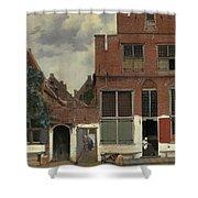 The Little Street, 1658 Shower Curtain