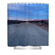 The Long Dirt Road Shower Curtain