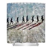 The Long Walk, World War Two Shower Curtain