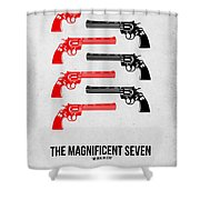 The Magnificent Seven Shower Curtain