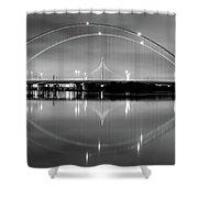The Margaret Mcdermott Bridge Shower Curtain by Robert Bellomy
